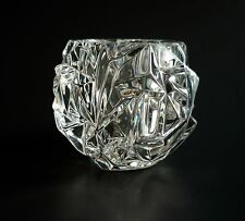 TIFFANY & Co. Glass Crystal Rock Votive Candle Holder