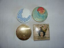 Vtg Art Deco Woodbury Dream Powder compact Cosmetic Jergens Coty French Flair