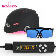 68 Diodes Laser Hair Loss Regrowth Growth Treatment Helmet + Timer + Glasses WB