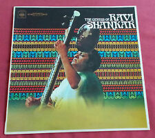 RAVI SHANKAR  LP THE GENIUS OF   SITAR