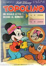 FUMETTO=TOPOLINO=N°1225 1979=