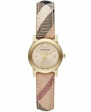 Burberry Women's Watch Check  Leather Band BU9219 Refurbished