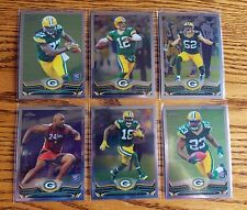 2013 Topps Chrome Football Green Bay Packers Team Set (6 Cards) Eddie Lacy RC