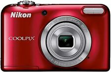 Nikon COOLPIX L29 16.1 MP Digital Camera - Red