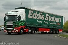 Eddie Stobart PE11WKY at Goole Aug 2013 6x4 INCH FRIDGE FRAME MAGNET B