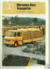 Mercedes Benz 508D 407D 608 Van Pick Up Tipper Van Chassis German Brochure