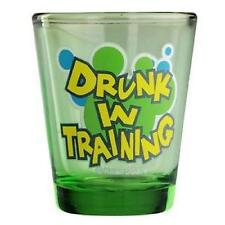 Drunk In Training Shot Glass ShotGlass