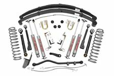 "Jeep Cherokee XJ 4.5"" Rough Country Suspension Lift Kit 84-01"