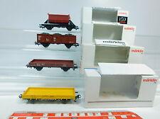 AW880-0,5# 4x Märklin H0/AC Carro merci DB: 4471+4423+4431+4413, molto buono+