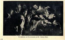 Der Zahnbrecher (Dresdener Galerie) G.von Honthorst um 1640 Print v.1924