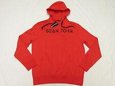 $59 NWT Mens Sean John Embroidered Pullover Hoodie Sweatshirt Urban Size L M970