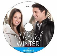 A ROYAL WINTER 2017 DVD HALLMARK MOVIE No Case/Art-DiscOnly