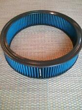 """FILTER ELEMENT ROUND AIR CLEANER 14"""" X 3"""" Blue REUSE 48026 Spectre Re-Oil"""