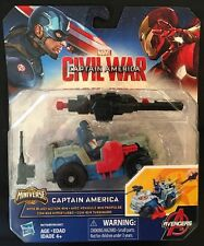 Marvel Captain America Civil War Captain America With Blast-Action 4x4 New