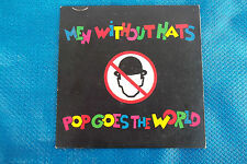 """MEN WITHOUT HATS """" POP GOES THE WORLD CD's DIGIPACK"""