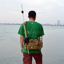 Outdoor Multifunction Fishing Lure Waist Pack Handbag Shoulder Bag Tackle P6Z8