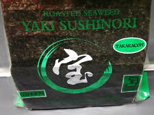 Sushi Nori Seaweed Half Cut 100 Sheet Green