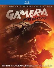 Gamera 11-in-1 Box Set Showa Heisei Coll. (Blu Ray Movie) SEALED, NEW (GS 39-5)
