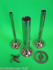 #12 SET Meat Grinder Mincer parts Plate, Knife (3) Sausage Stuffing Tubes 5 pc