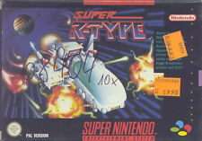 Super Nintendo SNES NES - SUPER R-TYPE