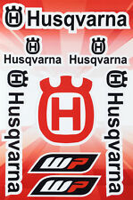 Husqvarna motorcycle decals stickers graphic set vinyl logo aufkleber adesivi