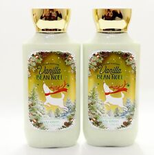 2 Bath & Body Works VANILLA BEAN NOEL Body Lotion Hand Cream