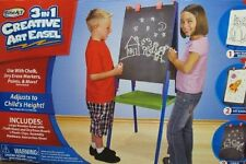 Brand New In Box RoseArt 3 in 1 Creative Art Easel, Dry Erase and Chalkboard