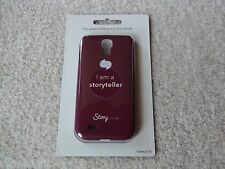 DISNEY I AM A STORYTELLER GALAXY S IV ANDROID SLIM CELL PHONE CASE