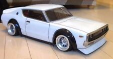 ABC HOBBY RC 1/10 SKYLINE 2000GT-R BariBari CUSTOM!! Clear Body Drift 66133