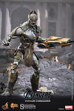 "Hot Toys CHITAURI Commander Avengers 12"" Sixth Scale Figure MMS 227 NEW"