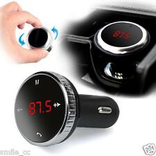 Bluetooth Wireless LCD FM Transmitter Modulator Car Kit MP3 Player SD w/Remote