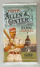 2016 ALLEN GINTER Autograph OR Relic OR Patch OR Cut Auto HOT PACK.