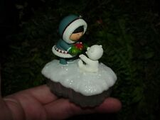 2015 A FISH FOR CHRISTMAS - Hallmark Christmas ornament - Frosty Friends