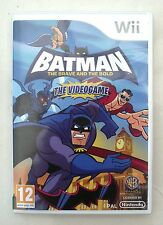 BATMAN THE BRAVE AND THE BOLD WII PAL