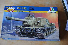 ITALERI ISU 152  TANK. 1/72  FAST KIT NOT INCLUDED ** see pictures