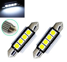 2pcs LED  4SMD White FOOTWELL FRONT LAMP Lights BMW E46 + M3 Coupe SEDAN