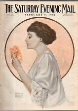 1907 Saturday Evening Mail February 9 - Frances Starr; Lincoln; University of PA