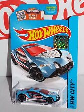 Hot Wheels 2015 Rescue Series #54 Speed Trap Blue From Factory Set