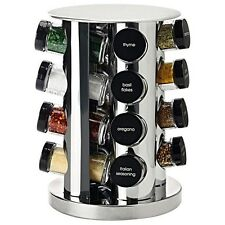 Maxwell & Williams Spice It Up 17 Piece Stainless Steel Spice Carousel Set