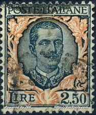 ITALIE VICTOR EMMANUEL III N° 185 AVEC OBLITERATION