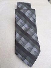 Muy atractiva negro y gris Essante Corbatas Corbata De Poliéster 100%