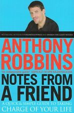 Notes From A Friend by Anthony Robbins NEW