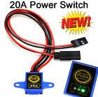 Ein/Aus Schalter Digital max.20A mit Spannungsanzeige wasserdicht, Power switch
