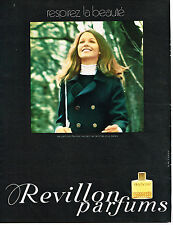 PUBLICITE ADVERTISING  1969    REVILLON   parfum DETCHEMA