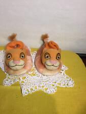 Lion King Plush Slippers Toddler Size 7/8 Simba
