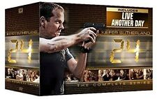 24: The Complete Series w/ Live Another Day [DVD Box Set, All 9 Seasons] NEW