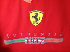 Ferrari Authentic Since 1947 XXL T-Shirt Red NWT