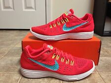 NIKE Lunartempo Running Shoes Women's SZ 12 NEW!! 705462 600 Bright Crimson