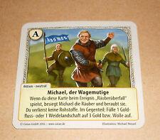 Die Fürsten von Catan - Michael, der Wagemutige ( Basisset Sonderkarte ) Neu
