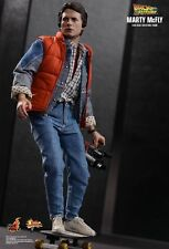 HOT TOYS MARTY MCFLY BACK TO THE FUTURE MMS257 1/6 FIGURE RITORNO AL FUTURO FAST